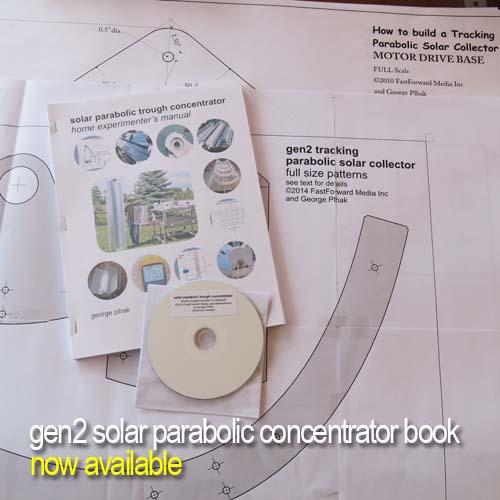 DIY solar parabolic trough manual